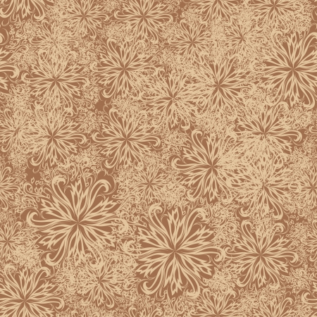seamless background with winter snowflakes for your design Vector