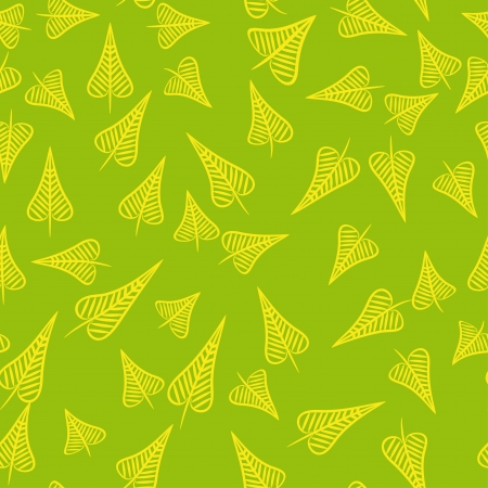 seamless pattern with foliage background Vector