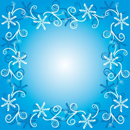 encasement: winter frame. abstract art