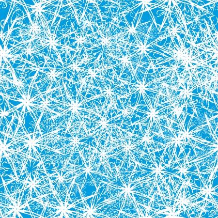 encasement: winter seamless abstract