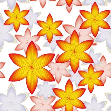 encasement: bright floral pattern for your design