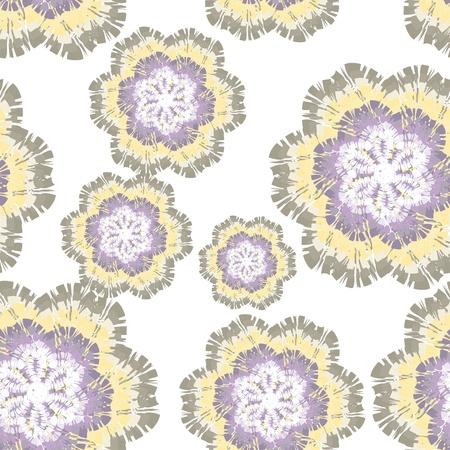 gentle flower vector background  Seamless texture Stock Vector - 21076638