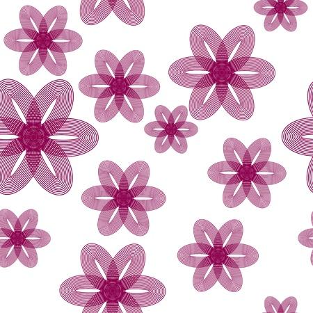 encasement: floral vector background. Seamless texture