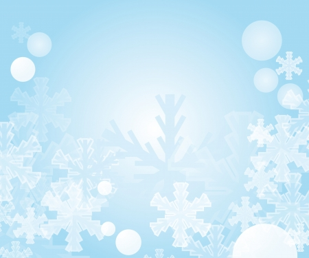 encasement: abstract winter background. Eps10