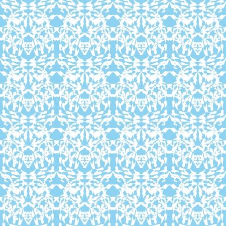encasement: abstract seamless pattern. Vector illustration