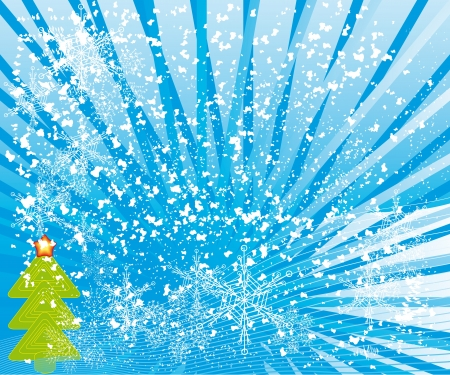 splutter: abstract winter background with different symbols by christmas
