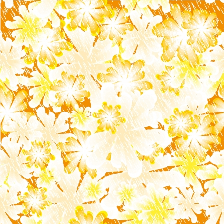 bright flower vector background. Seamless texture for your design