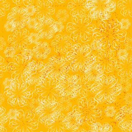 encasement: winter seamless with abstract vector snowflakes Illustration