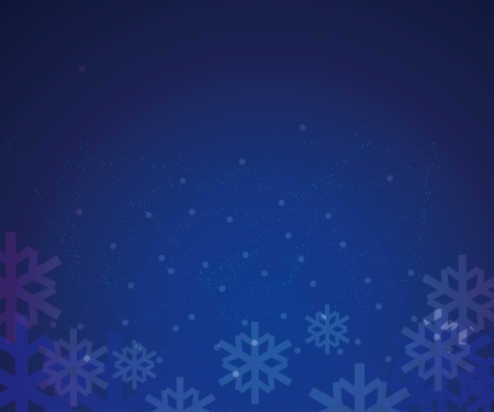 encasement: abstract vector winter background