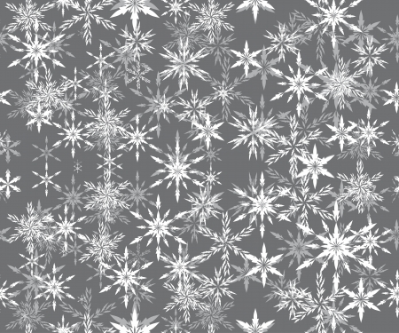 encasement: abstract vector winter background with snowflakes by mask