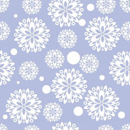 encasement: seamless pattern with abstract flowers