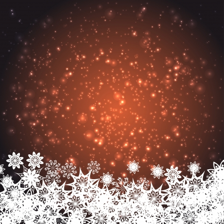 encasement: abstract background with snowflakes.