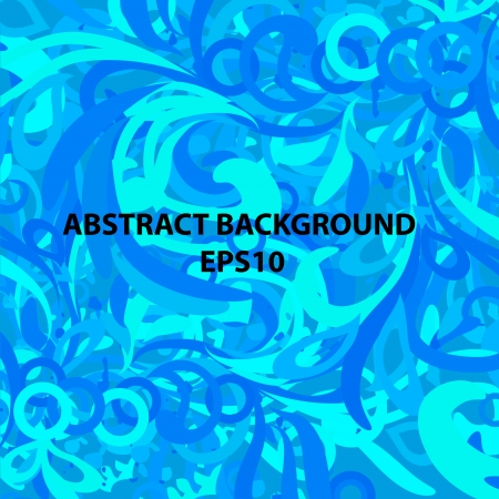 encasement: vector background with shades of blue elements