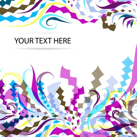 abstract geometry background Stock Vector - 23678697