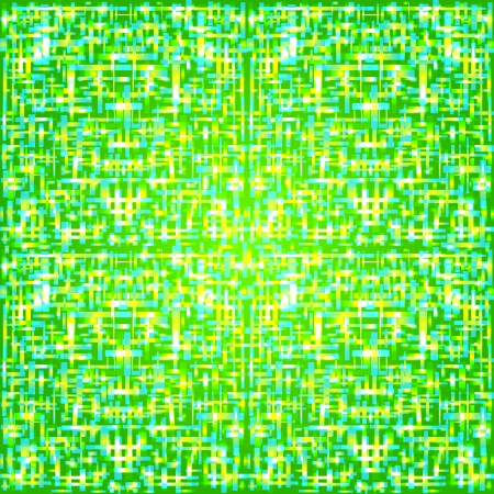 tessellation structure: abstract green background with squares