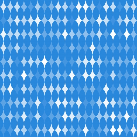 tessellation structure: abstract seamless pattern with rhombuses with different transparency on blue background