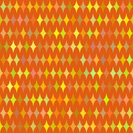 tessellation structure: abstract seamless pattern with colorfull rhombuses Illustration