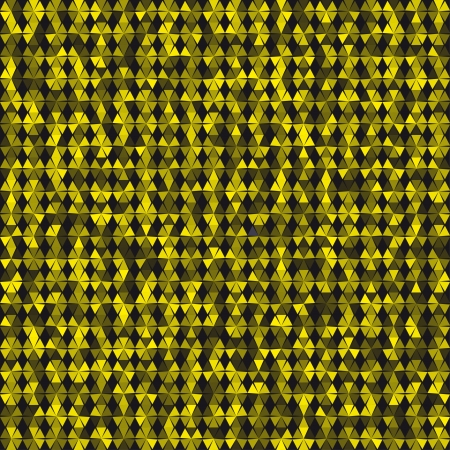 opacity: black and yellow background with varying opacity triangles and diamonds Illustration