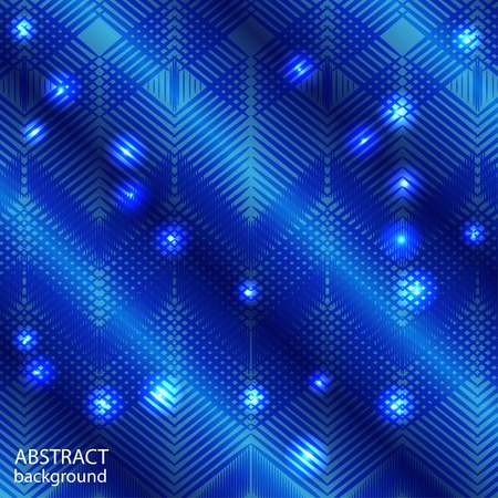 abstract geometric background with lines and lights elements Vector