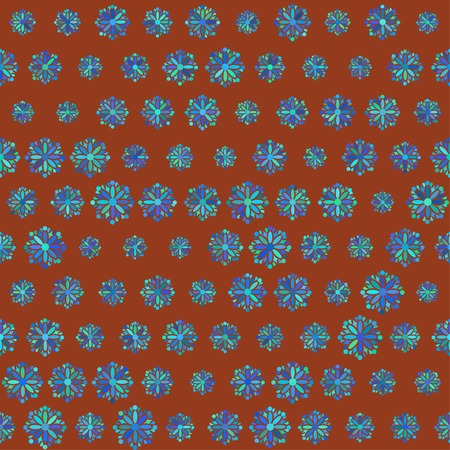 geomerty flower pattern Vector