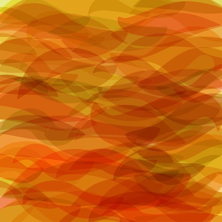 delusion: abstract vector background in shadows of orange Illustration