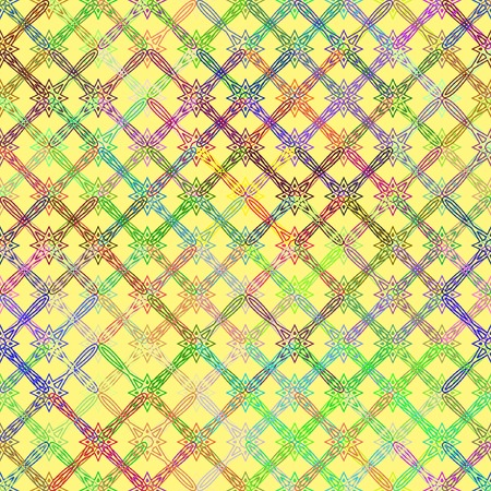 tessellation structure: seamless texture with bright colored mosaics Illustration