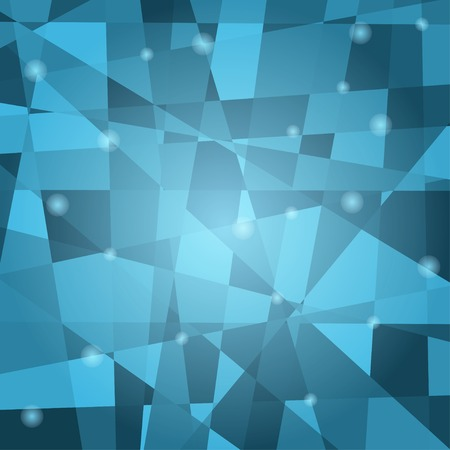 fragments: abstract background with various geometrical fragments. Without clipping mask