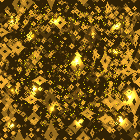 medley: GOLD abstract background with rhombus
