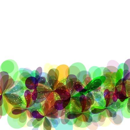 flores abstractas: Flores abstractas Vectores