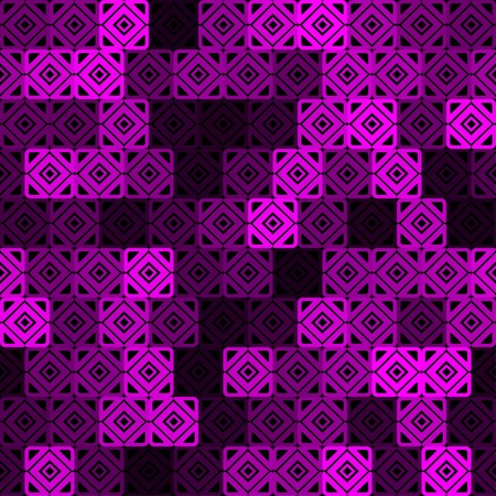 abstract seamless pattern with interesing  pink squares