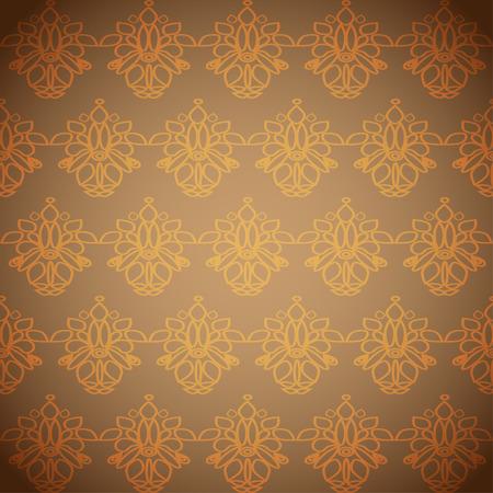broun: abstract simple seamless pattern Illustration