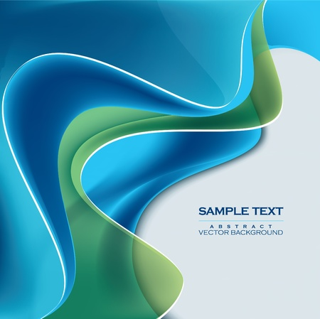 waves: Abstract Vector Background. Eps10 Format.