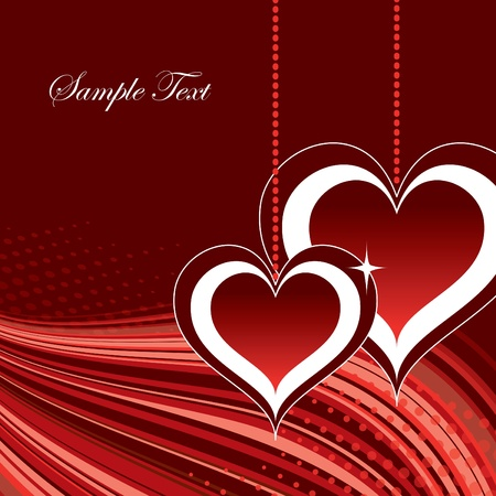 romance image: Valentine Background with Hearts.