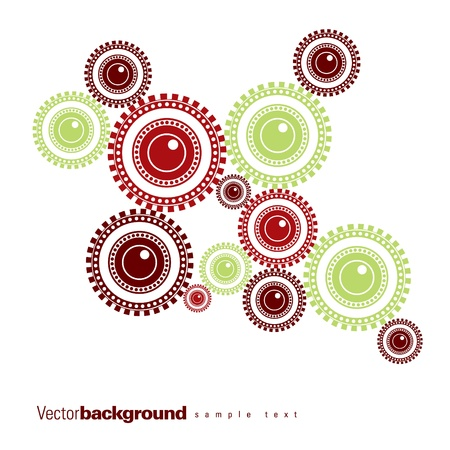 dag: Abstract Vector Background. Eps10 Format.