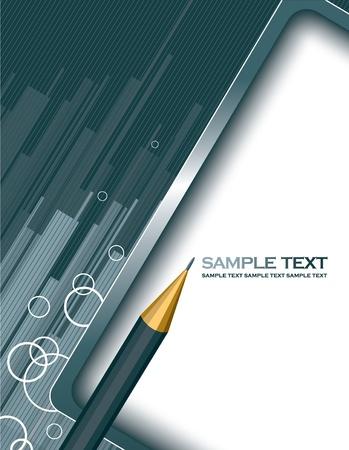 Abstract Vector Hintergrund. Eps10 Format. Standard-Bild - 12301538