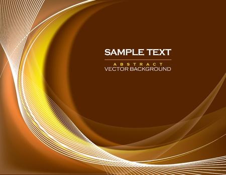 orange swirl: Abstract Background.