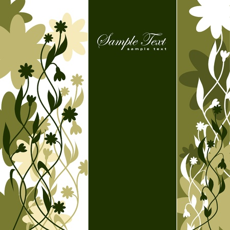 Abstract Floral Background. Eps10.