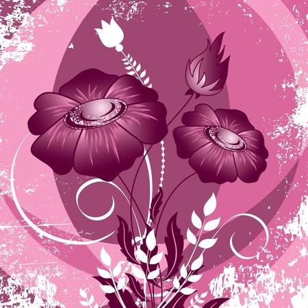 postcard design:  Background