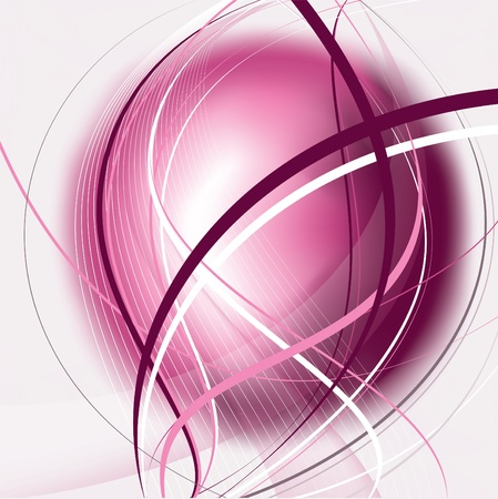 business graphics: Abstract Vector Background.