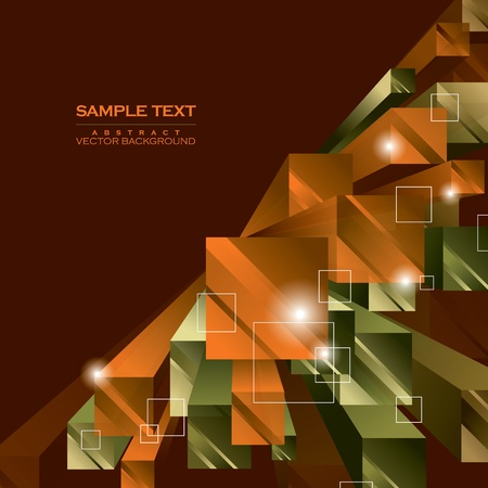 Abstract Vector Background. Stok Fotoğraf - 12799950