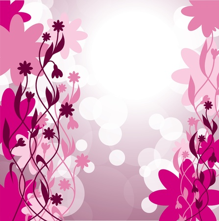 Abstract Floral Background  Eps10  Vector