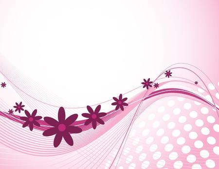 Floral Background  Vector Illustration  Eps10 Stock Vector - 13005209