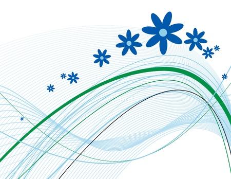 Floral Background  Vector Illustration  Eps10 Stock Vector - 13005204