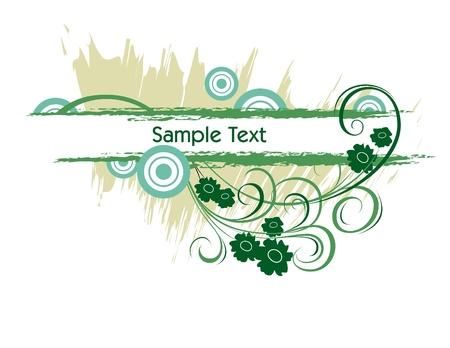 scroll border: Vector Background
