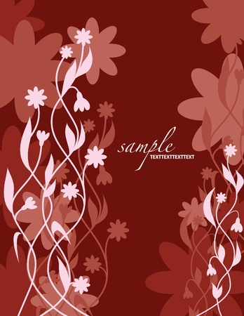Floral Background  Vector Illustration  Eps10  Stock Vector - 12997903
