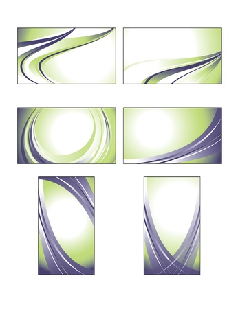 business event: Business Card Templates  Illustration