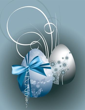 Easter Eggs  Vector Illustration   Vector