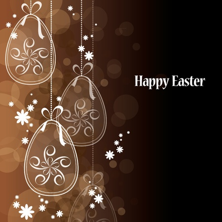 Easter Background  Vector Illustration  Vector