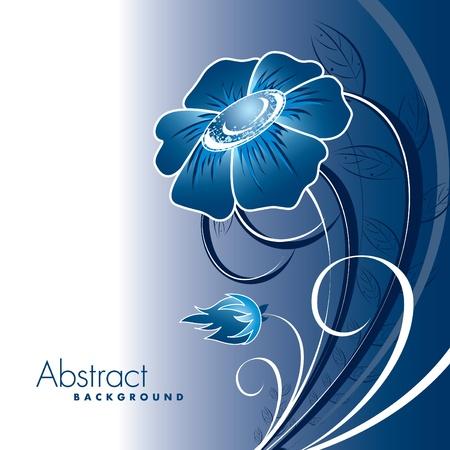 Floral Background Illustration Stock Vector - 13093909