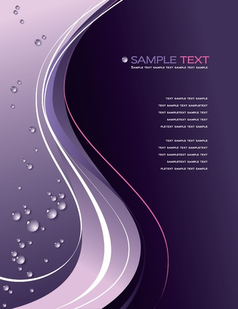 lines: Abstract Vector Background